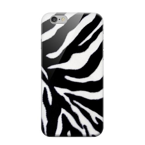 Geeks Designer Line (GDL) Apple iPhone 6 Matte Hard Back Cover - Zebra Print