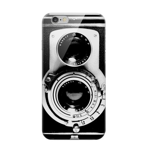 Geeks Designer Line (GDL) Apple iPhone 6 Matte Hard Back Cover - Black Film Noir Camera