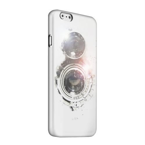 Geeks Designer Line (GDL) Apple iPhone 6 Matte Hard Back Cover - White Lens Flare
