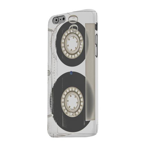 Geeks Designer Line (GDL) Apple iPhone 6 Matte Hard Back Cover - Clear Cassette