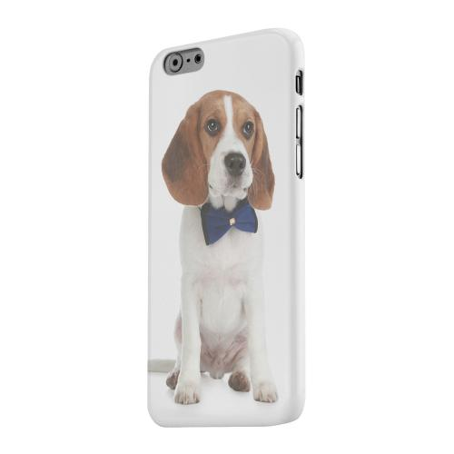 Geeks Designer Line (GDL) Apple iPhone 6 Matte Hard Back Cover - Beagle with Bow Tie