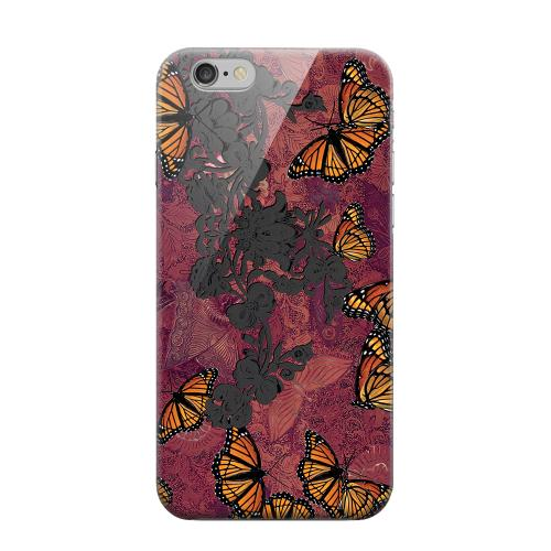 Geeks Designer Line (GDL) Apple iPhone 6 Matte Hard Back Cover - Butterflies on Parade