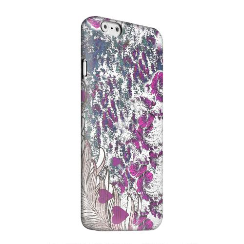 Geeks Designer Line (GDL) Apple iPhone 6 Matte Hard Back Cover - Feather Love