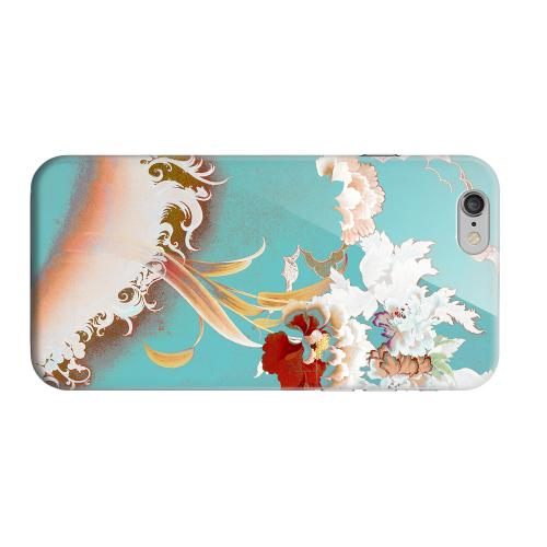 Geeks Designer Line (GDL) Apple iPhone 6 Matte Hard Back Cover - Flower Wave