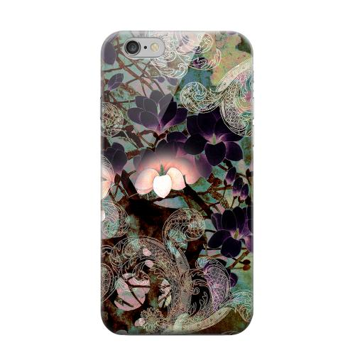 Geeks Designer Line (GDL) Apple iPhone 6 Matte Hard Back Cover - Lacy Flowers