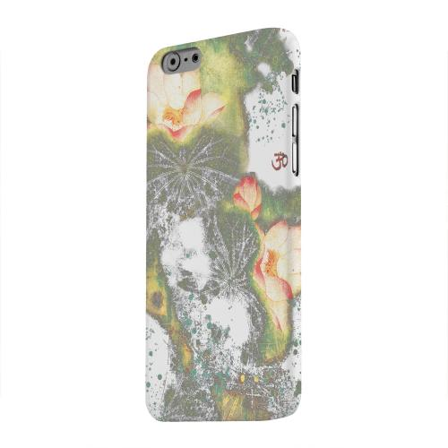 Geeks Designer Line (GDL) Apple iPhone 6 Matte Hard Back Cover - Lotus Flowers