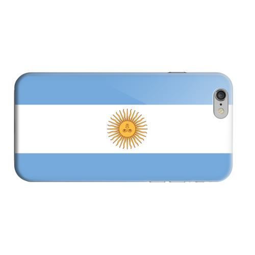 Geeks Designer Line (GDL) Apple iPhone 6 Matte Hard Back Cover - Argentina