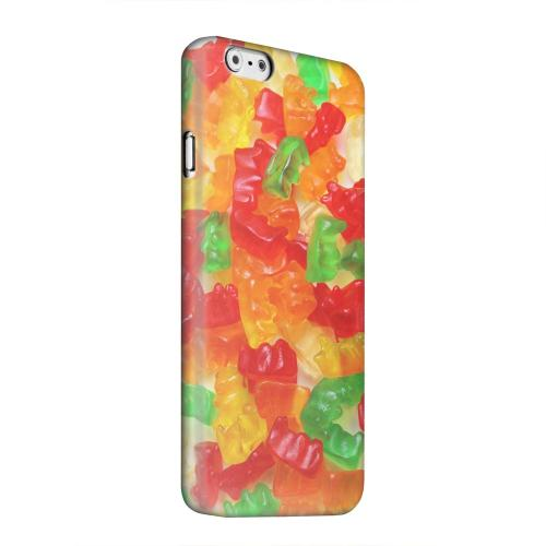 Geeks Designer Line (GDL) Apple iPhone 6 Matte Hard Back Cover - Multi-Colored Gummy Bears