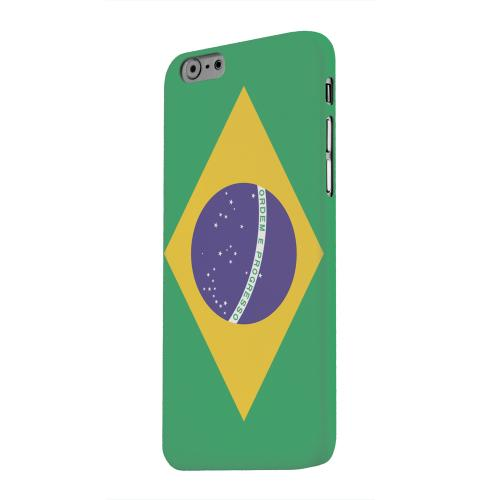 Geeks Designer Line (GDL) Apple iPhone 6 Matte Hard Back Cover - Brazil