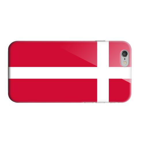 Geeks Designer Line (GDL) Apple iPhone 6 Matte Hard Back Cover - Denmark