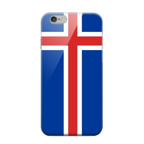 Geeks Designer Line (GDL) Apple iPhone 6 Matte Hard Back Cover - Iceland