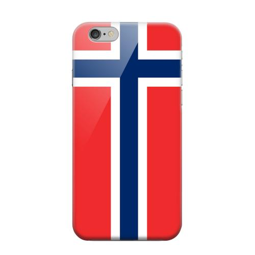 Geeks Designer Line (GDL) Apple iPhone 6 Matte Hard Back Cover - Norway