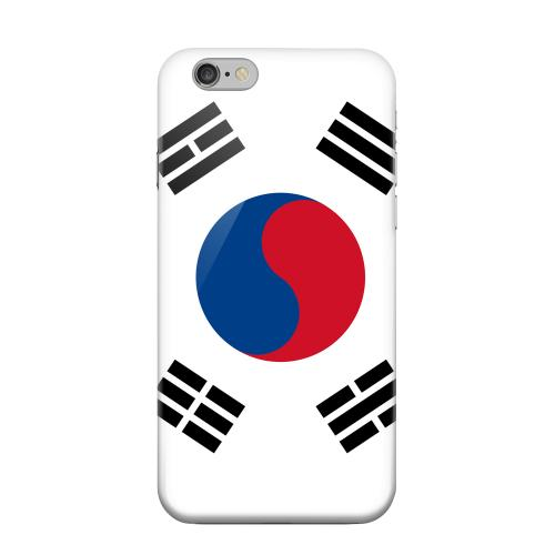 Geeks Designer Line (GDL) Apple iPhone 6 Matte Hard Back Cover - South Korea