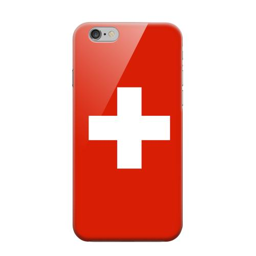 Geeks Designer Line (GDL) Apple iPhone 6 Matte Hard Back Cover - Switzerland