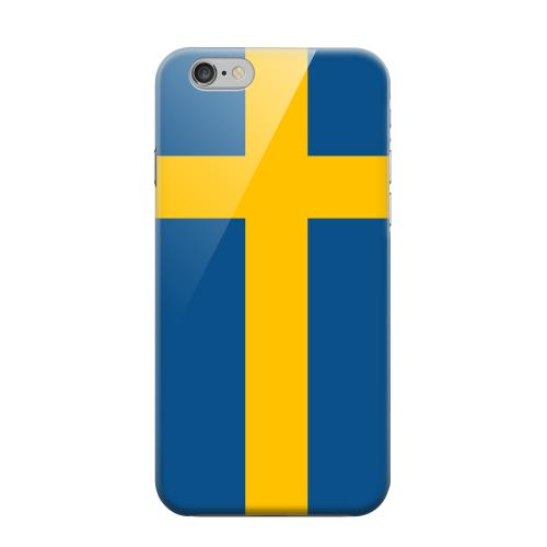 Geeks Designer Line (GDL) Apple iPhone 6 Matte Hard Back Cover - Sweden