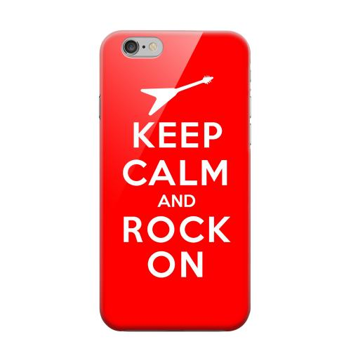 Geeks Designer Line (GDL) Apple iPhone 6 Matte Hard Back Cover - Red Rock On