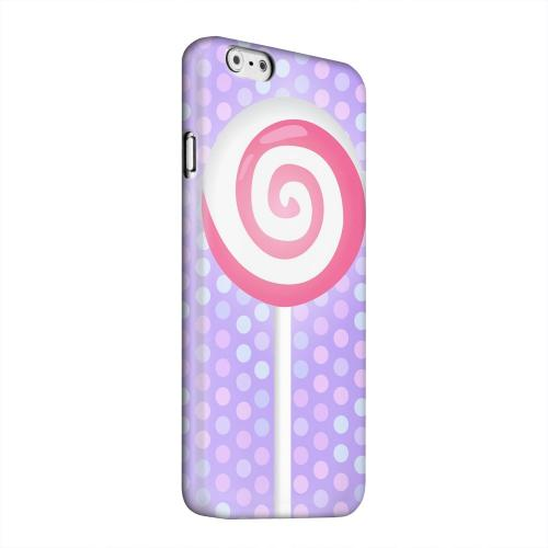 Geeks Designer Line (GDL) Apple iPhone 6 Matte Hard Back Cover - Pink Lollipop