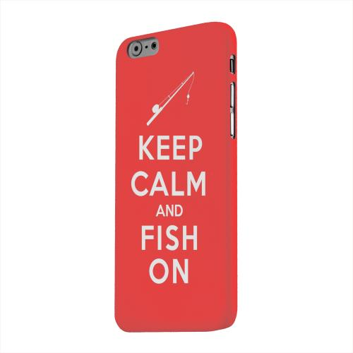 Geeks Designer Line (GDL) Apple iPhone 6 Matte Hard Back Cover - Red Fish On
