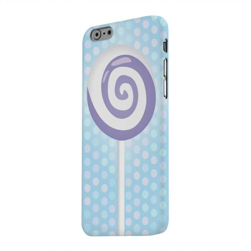 Geeks Designer Line (GDL) Apple iPhone 6 Matte Hard Back Cover - Purple Lollipop