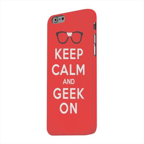 Geeks Designer Line (GDL) Apple iPhone 6 Matte Hard Back Cover - Red Geek On