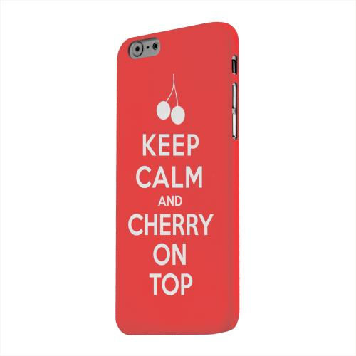 Geeks Designer Line (GDL) Apple iPhone 6 Matte Hard Back Cover - Red Cherry On Top