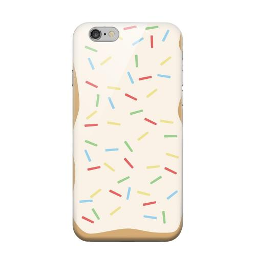 Geeks Designer Line (GDL) Apple iPhone 6 Matte Hard Back Cover - Toaster Pastry w/Sprinkles