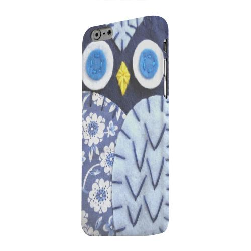 Geeks Designer Line (GDL) Apple iPhone 6 Matte Hard Back Cover - Night Blue Owl