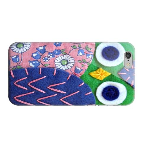 Geeks Designer Line (GDL) Apple iPhone 6 Matte Hard Back Cover - Green/ Blue Owl
