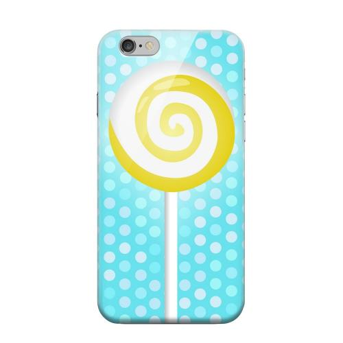Geeks Designer Line (GDL) Apple iPhone 6 Matte Hard Back Cover - Yellow Lollipop