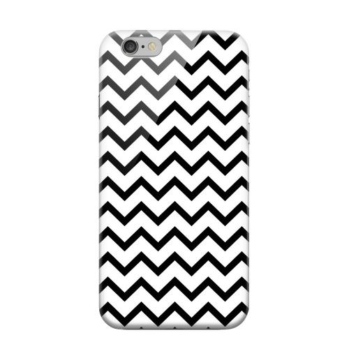 Geeks Designer Line (GDL) Apple iPhone 6 Matte Hard Back Cover - Black on White