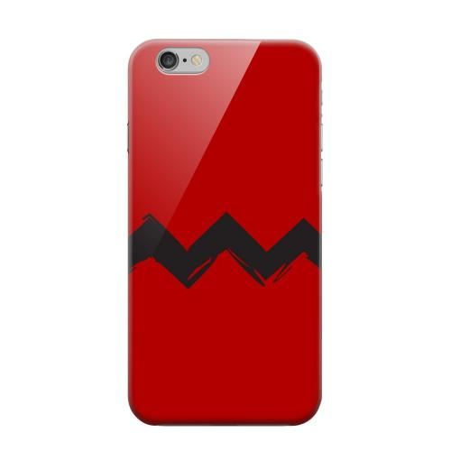 Geeks Designer Line (GDL) Apple iPhone 6 Matte Hard Back Cover - Red Good Grief!