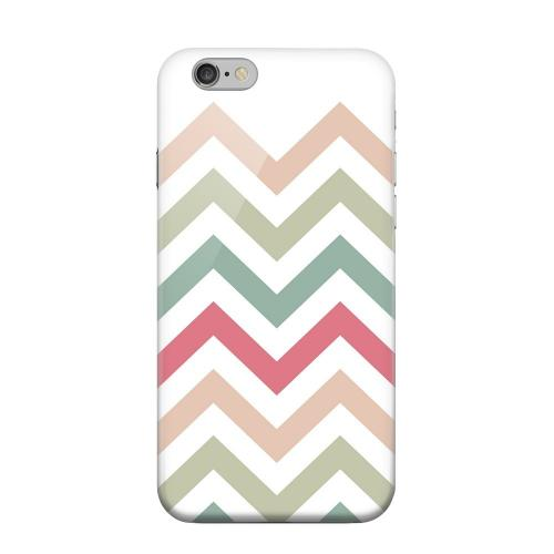 Geeks Designer Line (GDL) Apple iPhone 6 Matte Hard Back Cover - Green/ Red on White