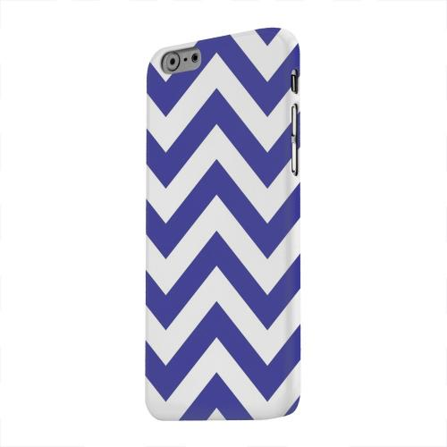 Geeks Designer Line (GDL) Apple iPhone 6 Matte Hard Back Cover - Navy Blue on White