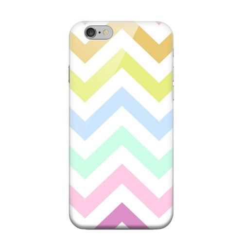 Geeks Designer Line (GDL) Apple iPhone 6 Matte Hard Back Cover - Pastel on White