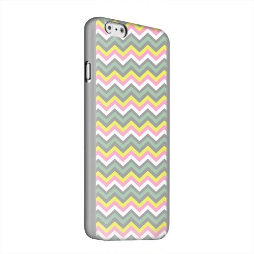 Geeks Designer Line (GDL) Apple iPhone 6 Matte Hard Back Cover - Pink/ Yellow/ Gray/ Green