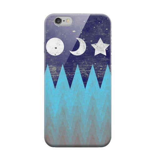 Geeks Designer Line (GDL) Apple iPhone 6 Matte Hard Back Cover - Sun Moon Star