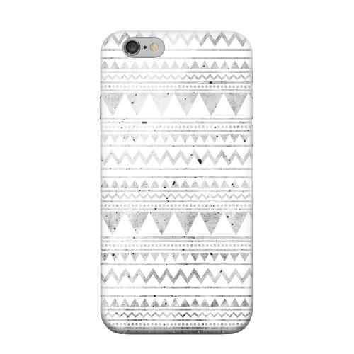 Geeks Designer Line (GDL) Apple iPhone 6 Matte Hard Back Cover - Grungy Triangles