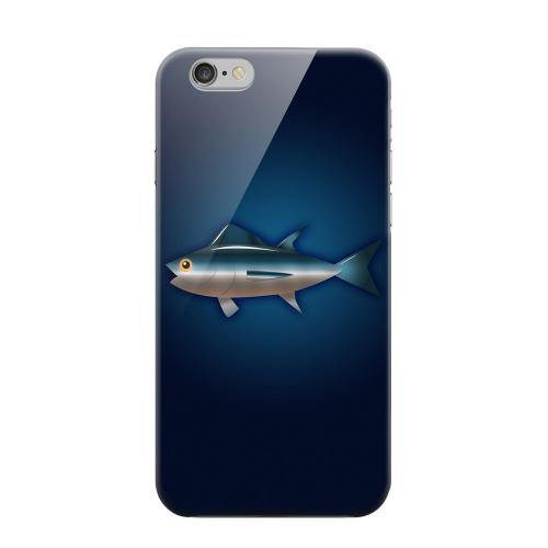 Geeks Designer Line (GDL) Apple iPhone 6 Matte Hard Back Cover - Bluefin Tuna
