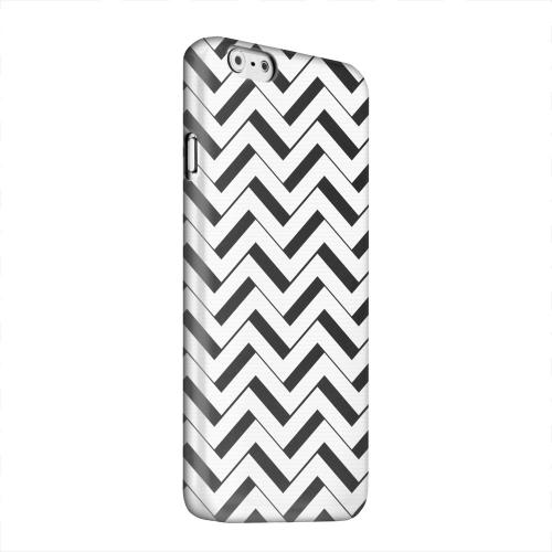 Geeks Designer Line (GDL) Apple iPhone 6 Matte Hard Back Cover - Black/ White 3D