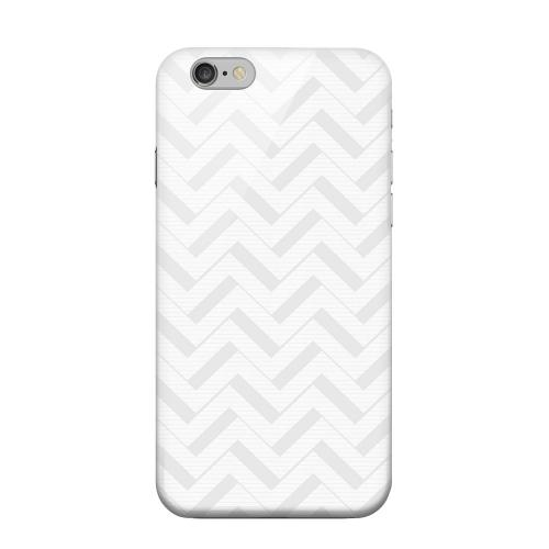 Geeks Designer Line (GDL) Apple iPhone 6 Matte Hard Back Cover - Light Gray/ White 3D