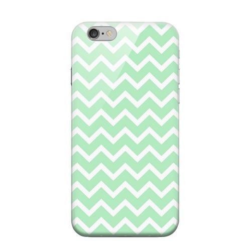 Geeks Designer Line (GDL) Apple iPhone 6 Matte Hard Back Cover - White on Mint