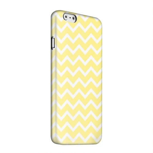 Geeks Designer Line (GDL) Apple iPhone 6 Matte Hard Back Cover - White on Yellow