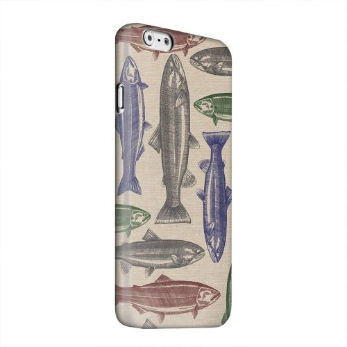Geeks Designer Line (GDL) Apple iPhone 6 Matte Hard Back Cover - Trout Print