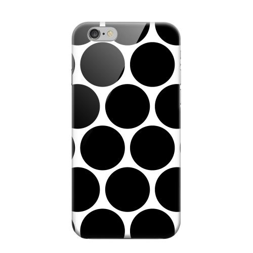 Geeks Designer Line (GDL) Apple iPhone 6 Matte Hard Back Cover - Big & Black