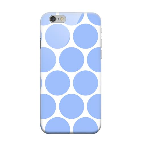 Geeks Designer Line (GDL) Apple iPhone 6 Matte Hard Back Cover - Big & Sky Blue