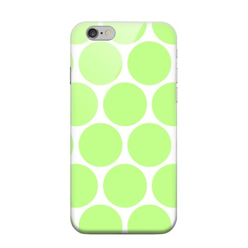 Geeks Designer Line (GDL) Apple iPhone 6 Matte Hard Back Cover - Big & Lime Green