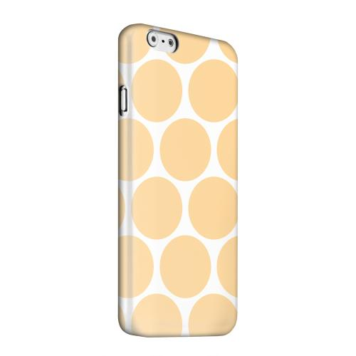 Geeks Designer Line (GDL) Apple iPhone 6 Matte Hard Back Cover - Big & Orange