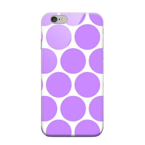Geeks Designer Line (GDL) Apple iPhone 6 Matte Hard Back Cover - Big & Purple