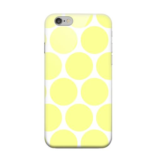 Geeks Designer Line (GDL) Apple iPhone 6 Matte Hard Back Cover - Big & Yellow