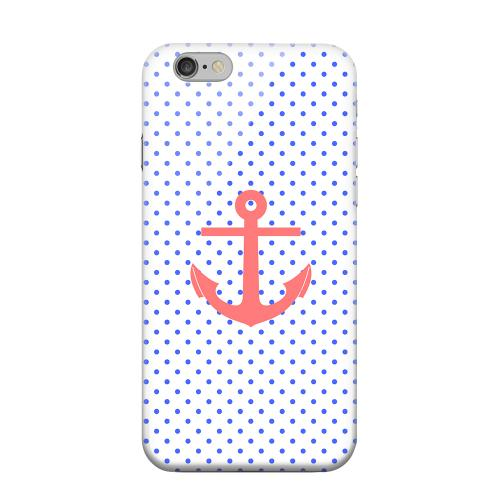 Geeks Designer Line (GDL) Apple iPhone 6 Matte Hard Back Cover - Anchor